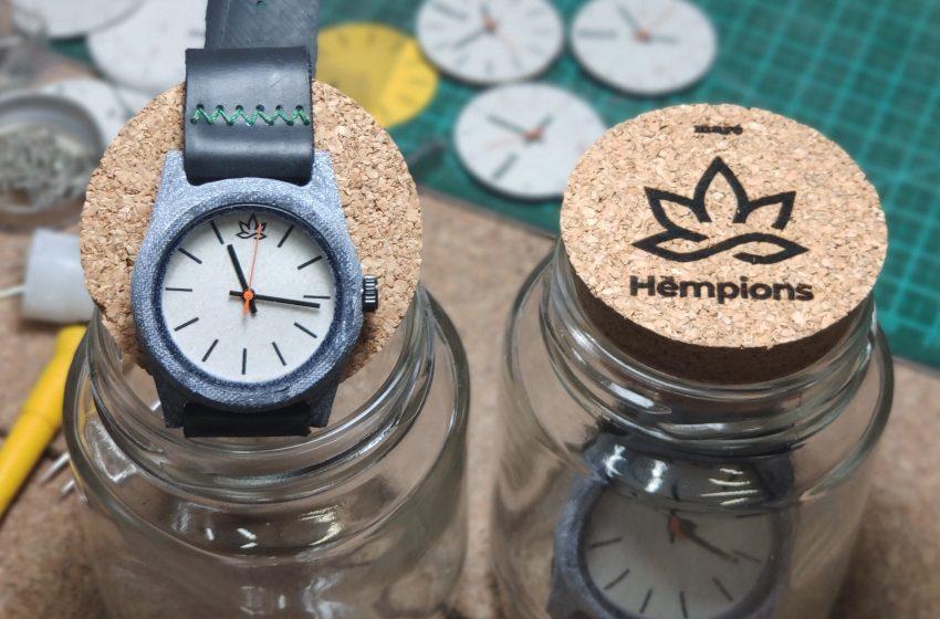 Relógios feitos de cannabis chegam ao Brasil