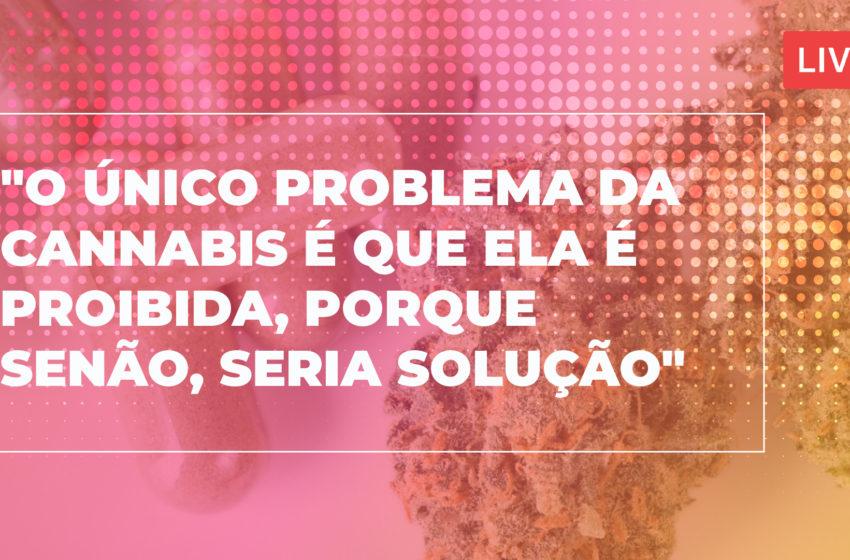 Pedro Sabaciuskis, presidente da associação Santa Cannabis