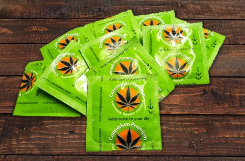 Cannadom: Preservativo de cannabis