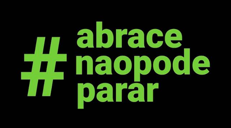 Campanha #Abracenaopodeparar busca arrecadar fundos para continuar funcionando