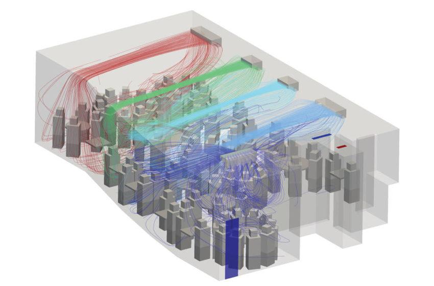 Pesquisadores desenvolvem método para controlar a circulação de ar