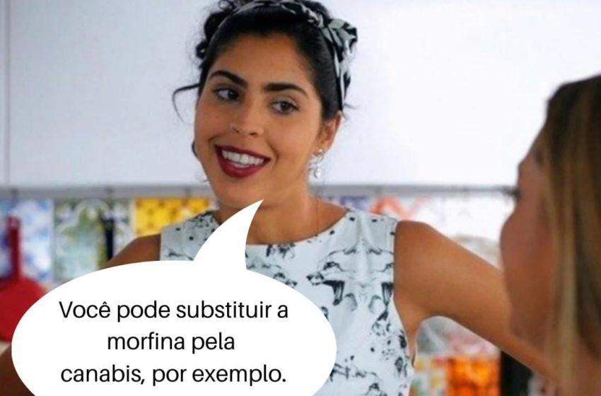 Você pode substituir a morfina pela Cannabis